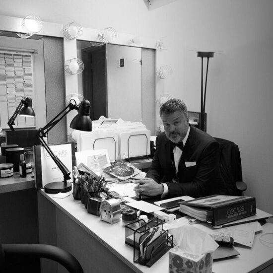 Rob Paine at his desk