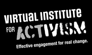 The Virtual Institute for Activism promotional poster.