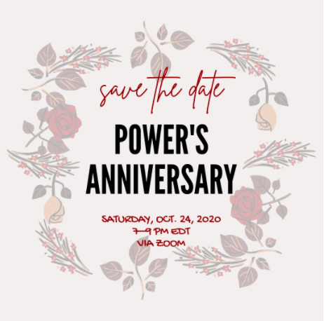 A save-the-date for POWER's anniversary