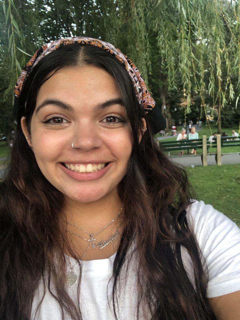 Jess Niazian in Public Garden