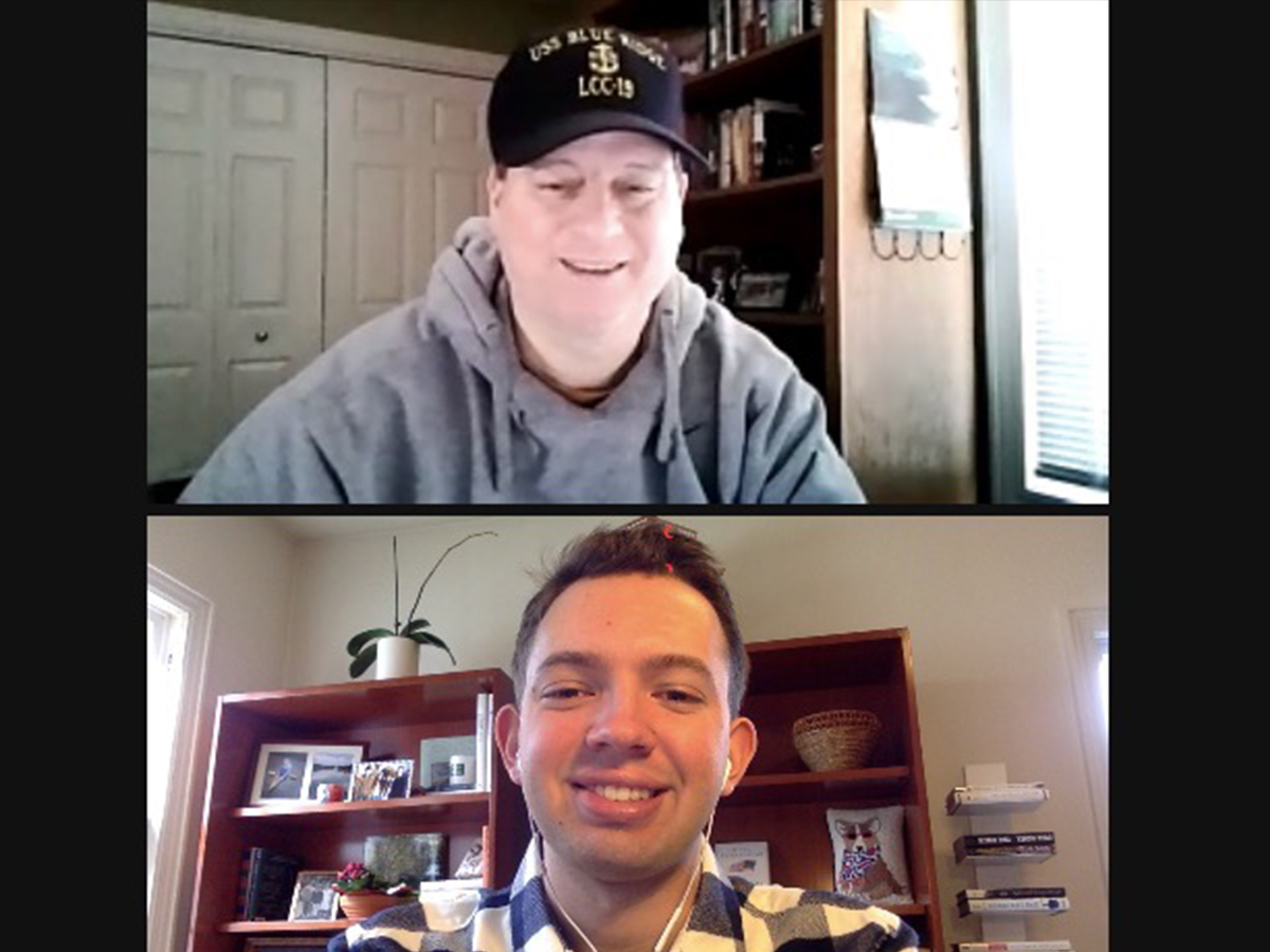 galen o'dell interviews mike blankers on zoom