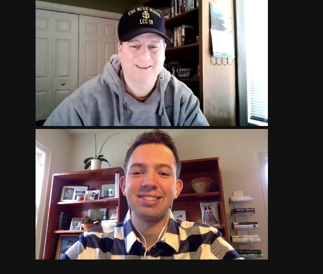 galen odell interviews mike blankers on zoom