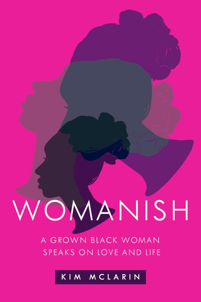 Womanish book jacket with cameos of women