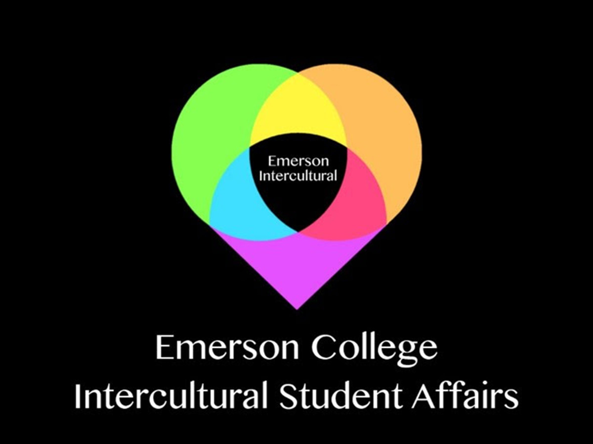 Intercultural Student Affairs logo multicolored heart