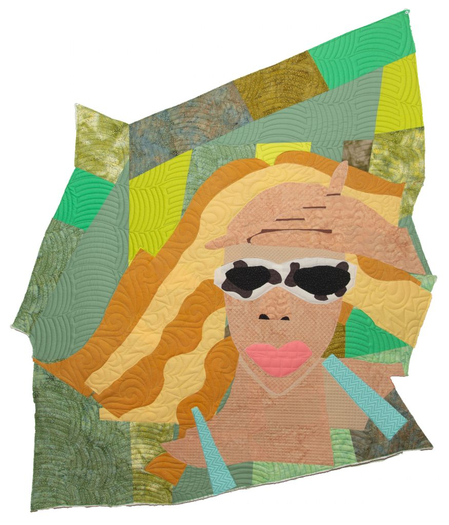 Quilt of a woman