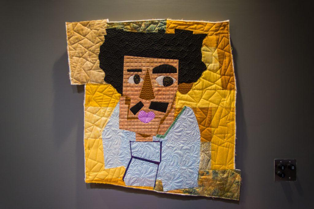 A quilt of a man