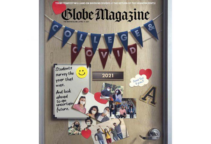 Boston Globe Magazine cover
