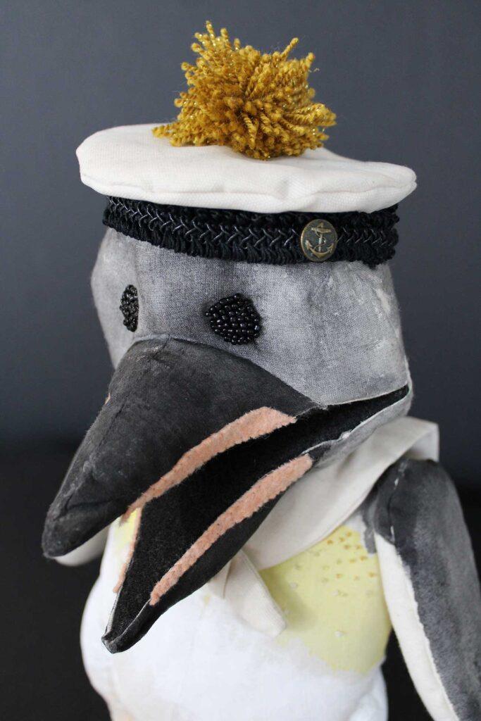 Penguin puppet